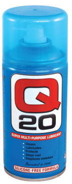 Q20 Multi-Purpose Lubricant 300gr Spray Can