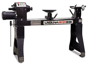 Laguna Tools Lathe, Revo 18|36, Woodturning