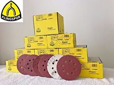 Klingspor Abrasive Discs, 60Grit, 125mmØ, PS22K, GLS5-8 Holes (Box of 50)