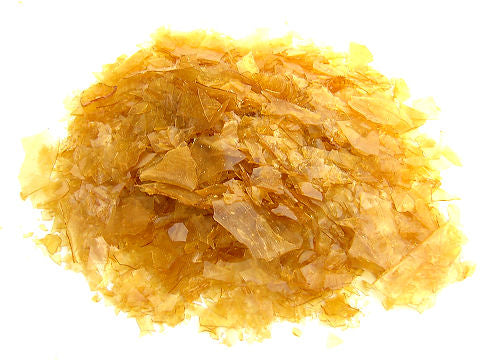 Toolcraft Shellac Flakes, Dewaxed, Blonde, 500g