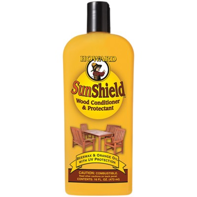 Howard SunShield Wood Conditioner & Protectant, 473ml