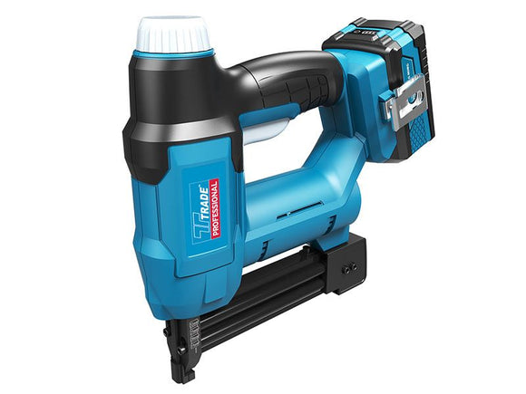Trade Professional 18v Nail/Staple Gun included  1 X 2.0Ah Batt + Charger