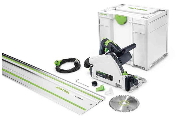 Festool Track Saw, TS55 REBQ-Plus-Fs, Plunge Cut 576007