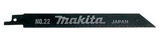 Makita Reciprocating Saw Blades No 21 - Metal