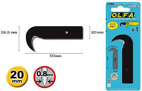 Olfa Hook Blade for Hok Cutter 1 - HOB-1