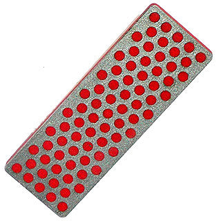 DMT W7F Diamond Whetstone™ Mini Diamond Stone Fine (70 X 25mm), Red