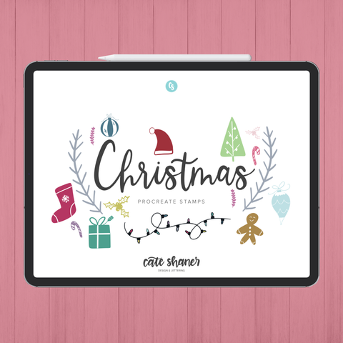 Christmas Procreate Stamps