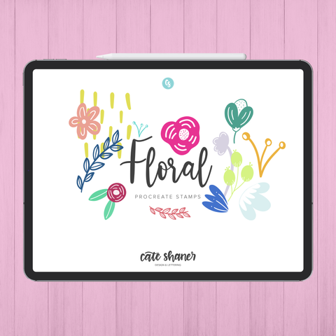 Floral Procreate Stamps