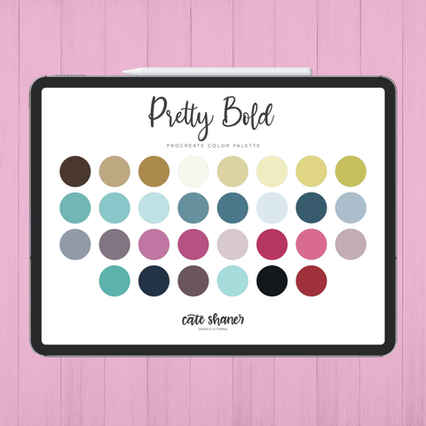 Pretty Bold Procreate Color Palette