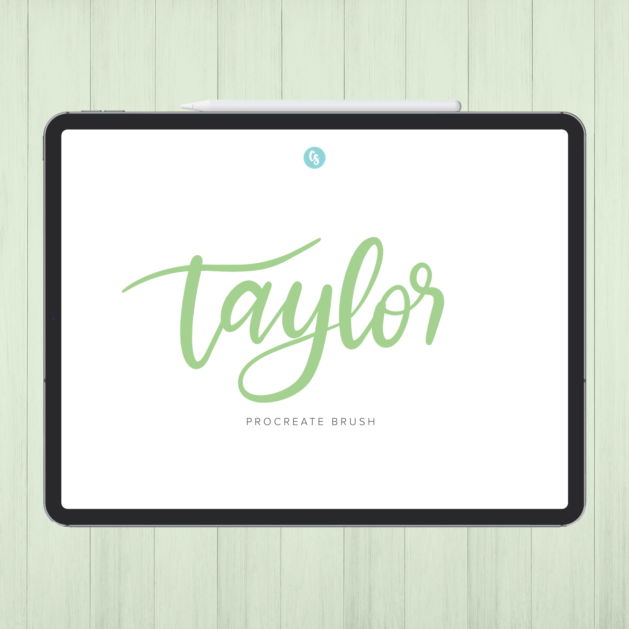 Taylor Procreate Brush