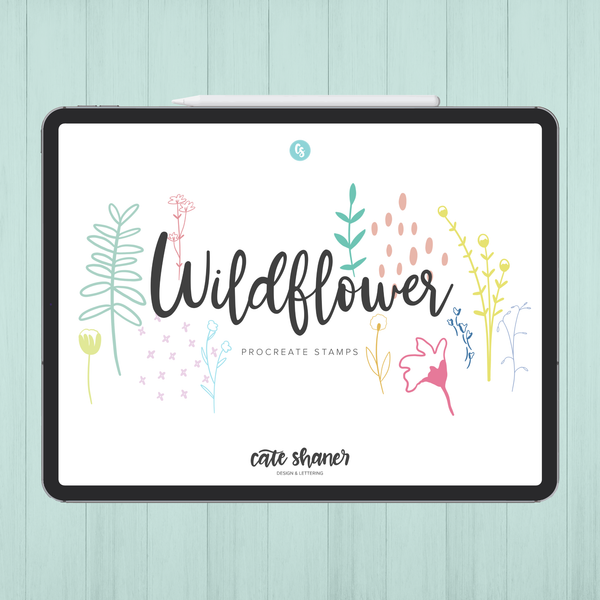 Wildflower Procreate Stamps