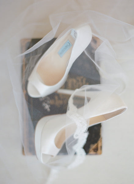 INSTAGRAM-WORTHY IVORY WEDDING SHOES