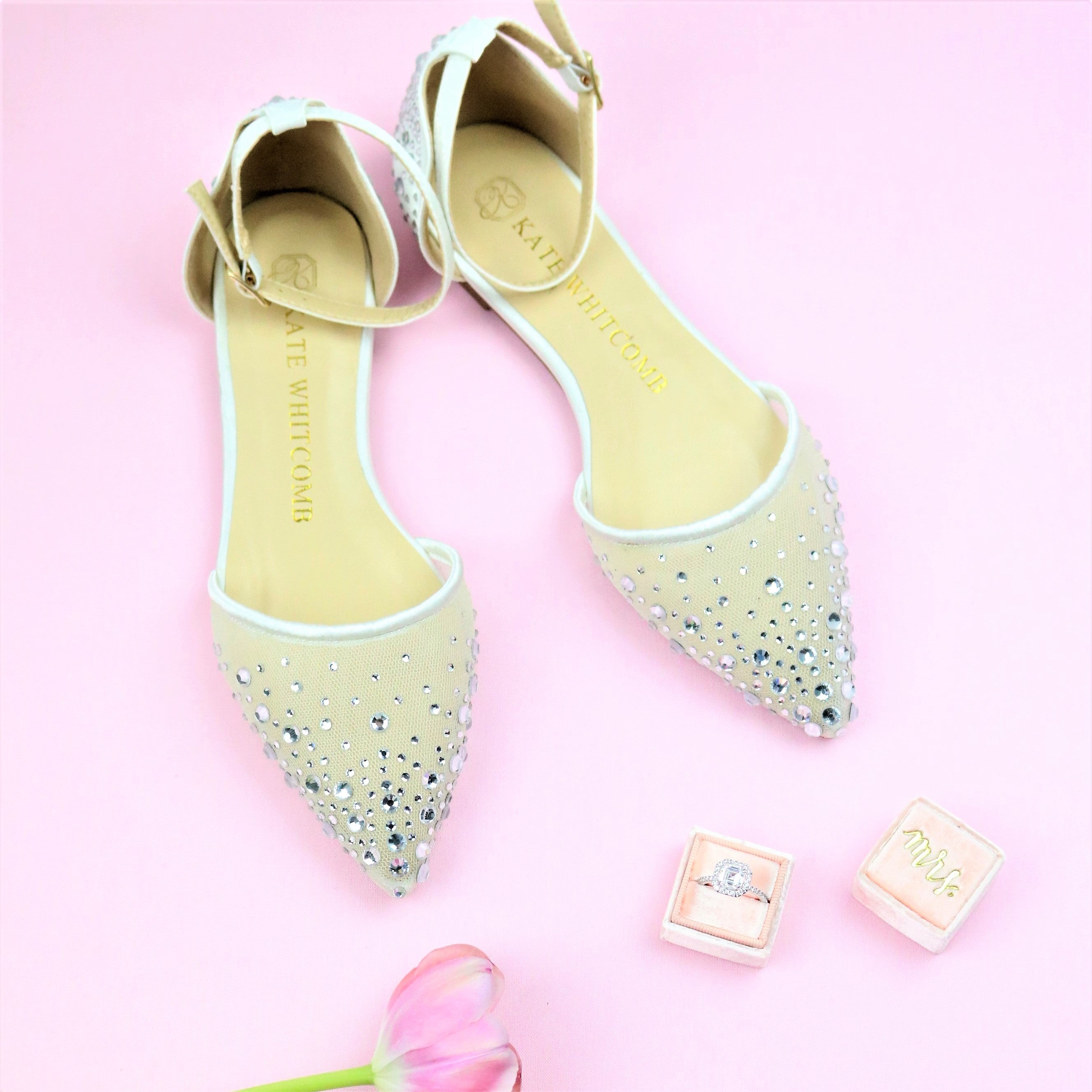 Cinderella Bridal Shoes and Dresses