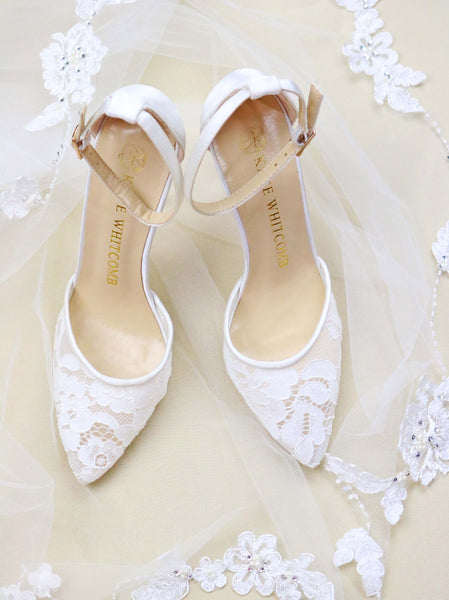 """Lace Up"" for Your Wedding Day"