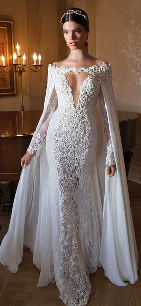 trendy wedding dress and shoes