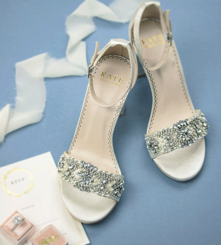wedding shoes, block heels, bridal heel, shoes for bride