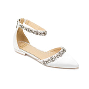 Megan Ivory -Bridal Shoes Rhinestone