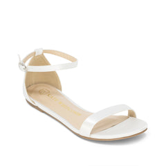 Bridal Flats Satin Wedding Shoes - Flora Ivory - Kate Whitcomb Shoes