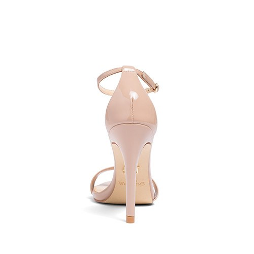 "Wedding Shoes - ""Samantha"" Sandals in nude"