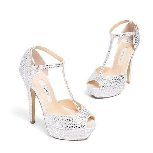 wedding shoes, rhinestone wedding sandals, kate whitcomb shoe, bianca