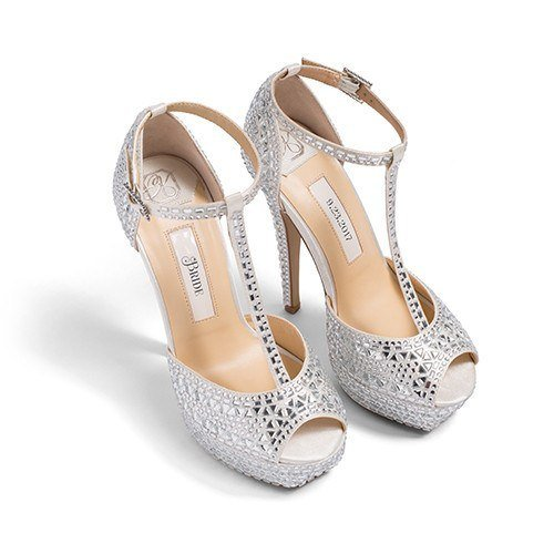 "Shoes - Ivory Wedding Shoes - ""Bianca"" 2, personalized bridal sandals"