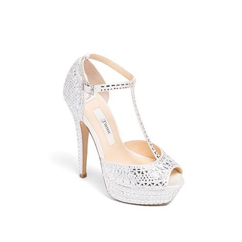 Wedding Shoes High Heel - Bianca Ivory - Kate Whitcomb Shoes