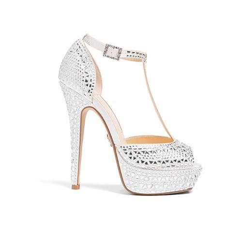 "Shoes - Ivory Wedding Shoes - ""Bianca"" 4. personalized bridal sandals"