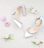 Wedding Shoes - Milly Ivory Bridal Heels - Kate Whitcomb Shoes