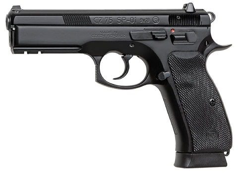 "CZ-USA- CZ 75 SP-01 9MM 4.6"" BLK 18RD NS"