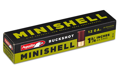 AGUILA- MINISHELL 12GA 4 BUCK 20RD BOX