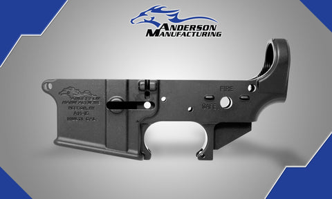 ANDERSON MANUFACTURING- AM-15 LOWER RECEIVER