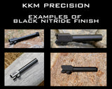KKM PRECISION- GLOCK 17 MATCH 9MM 1/2X28 BLACK NITRIDE