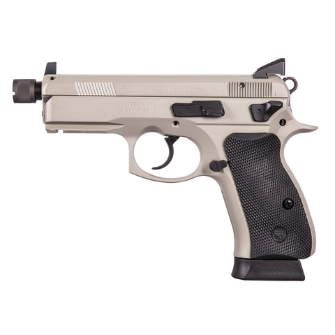 CZ-USA- CZ 75 P-01 PISTOL 9MM SUPPRESSOR READY OMEGA