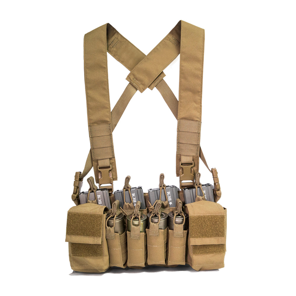 HALEY STRATEGIC- D3CRX CHEST RIG COYOTE ***FREE SHIPPING***