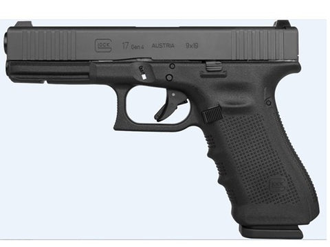 GLOCK- G17 GEN 4 W/ FRONT SERRATIONS/STEEL SIGHTS/EXTENDED CONTROLS 9MM ***FREE SHIPPING***