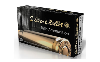 SELLIER & BELLOT- 6.5 CREEDMOOR 131GR SP 20RD