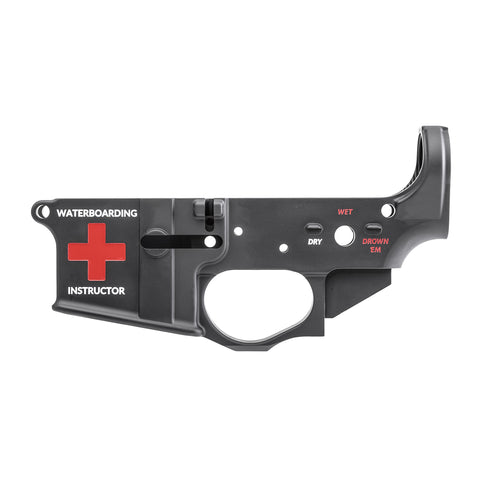 SPIKES TACTICAL- STRIPPED LOWER (WATERBOARDING)