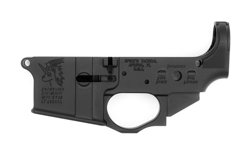 SPIKES TACTICAL- STRIPPED LOWER (SNOWFLAKE)