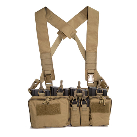 HALEY STRATEGIC- D3CR HEAVY CHEST RIG 7.62 COYOTE ***FREE SHIPPING***