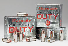 HORNADY- 9MM LUGER+P 135gr CRITICAL DUTY 25CT