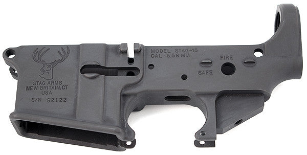 STAG ARMS- STRIPPED LOWER RECEIVER