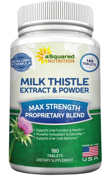 Milk Thistle 180 Tablets