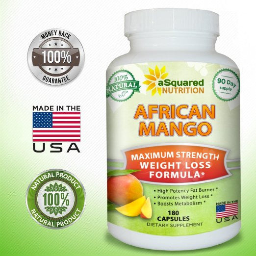 African Mango Asquared Nutrition