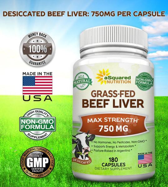 Grass Fed Beef Liver