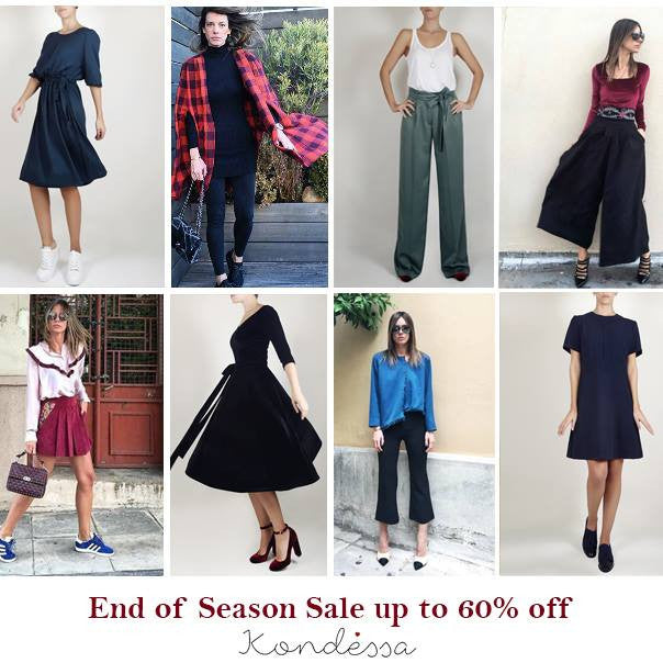End of Season Sale up to 60% off !
