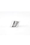 Curvy ring silver normal size
