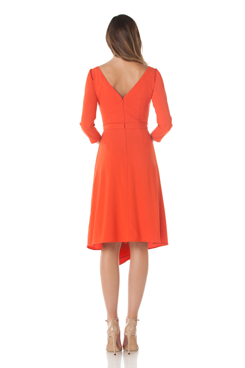 Boatneck Cocktail Dress