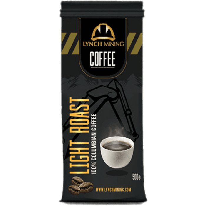 Now Available - Lynch Mining Coffee - 100% Columbian Light Roast