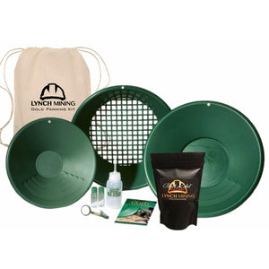 Lynch Mining Starter Panning Kit + BlackLabel Paydirt™
