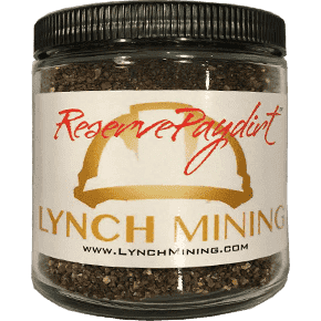 Reserve Paydirt™ Jar - 1 Gram of Gold Panning Concentrates - Arizona